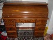 Solid Oak roll top desk circa 1965