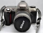 Nikon F65 SLR Camera (film) with Nikkor 28-80mm Lens