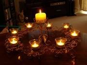 5 piece candlelight set