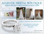 High Quality Wedding Dresses And Apparel At Majestic Bridal Boutique