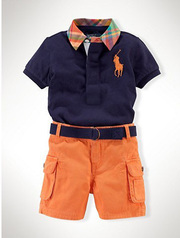 wholesale kids brand name clothing-boy sets/outfits